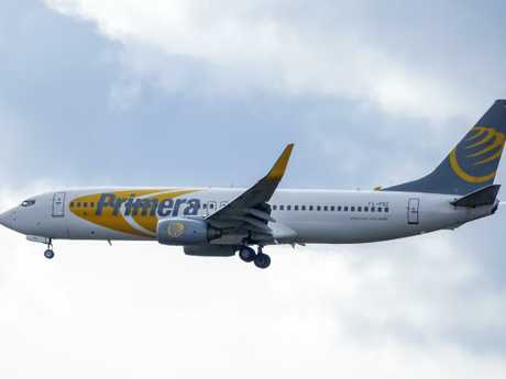 Primera Air has been accused of not notifying passengers it wasn't going ahead with flights.