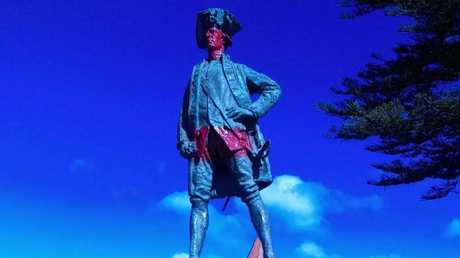 The statue of Captain Cook in Gisborne, New Zealand has been the subject of intense debate. Now it will be removed. Picture: Gisborne City Council