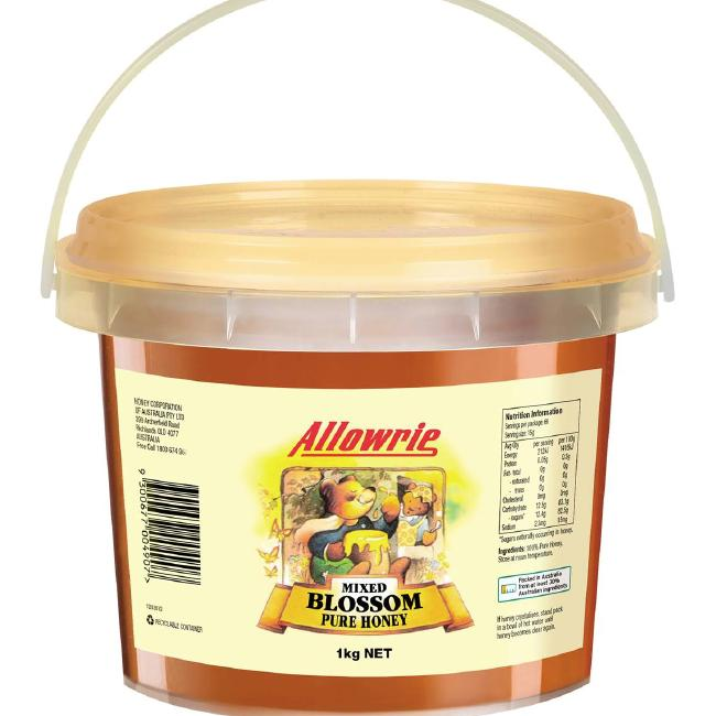 Allowrie Mixed Blossom Honey, owned by Capilano, showed as 'adulterated' in a previous test. Picture: Supplied