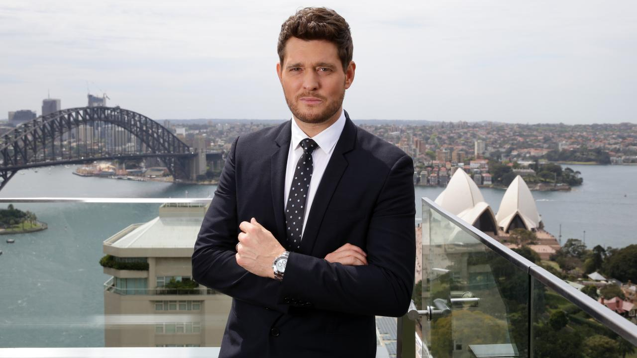 Michael Buble wants to thank fans on first Australian tour in six years