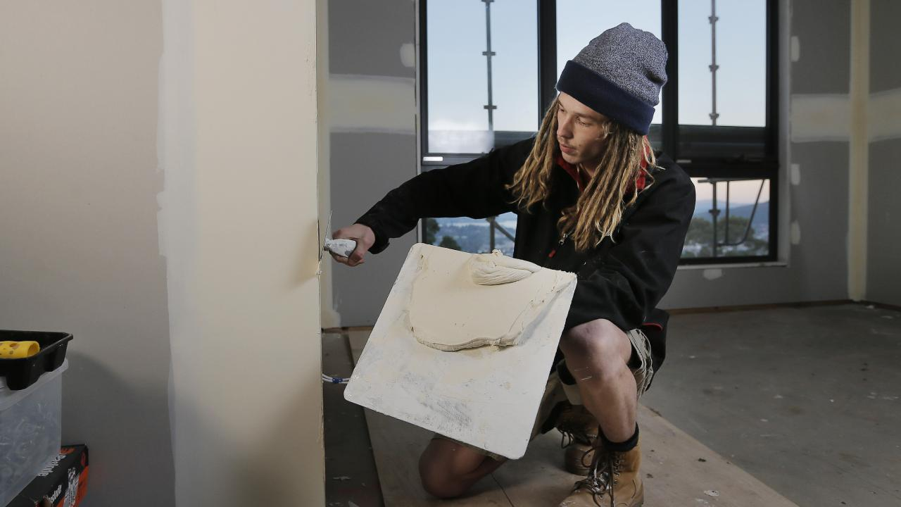 Tradies such as plasterers would be among those paying less for licences.