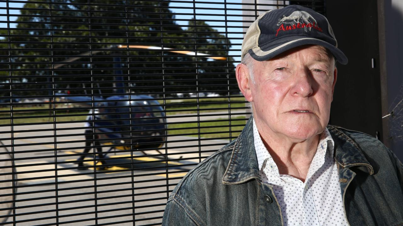 John Killick pictured outside the Heli terminal at Sydney Airport in November 2017. Picture: AAP