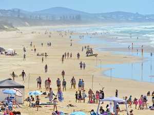 Paramedics rush to near drowning at Coast beach