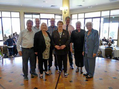 BIG BASH: The Broadbeach U3A Silver Anniversary Committee at the celebration lunch held recently.