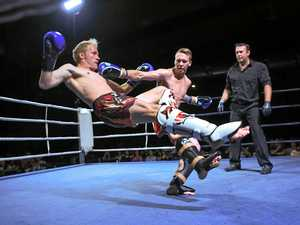 KNOCKOUT PUNCH: Powell wins on fight night