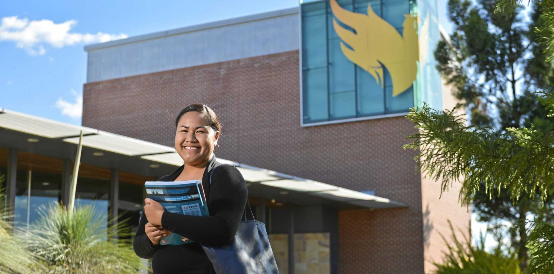 Afioga Leota is studying a batchelor of business and commerce at USQ.