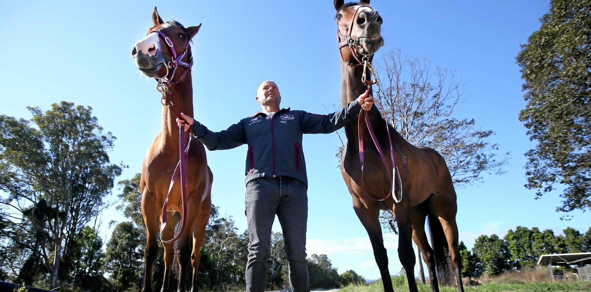 Murwillumbah horse-trainer Matt Dunn has negotiated two horses into next Sunday's 'The Kosciuszko' race at Randwick, which is being billed as the world's richest country thoroughbred race.