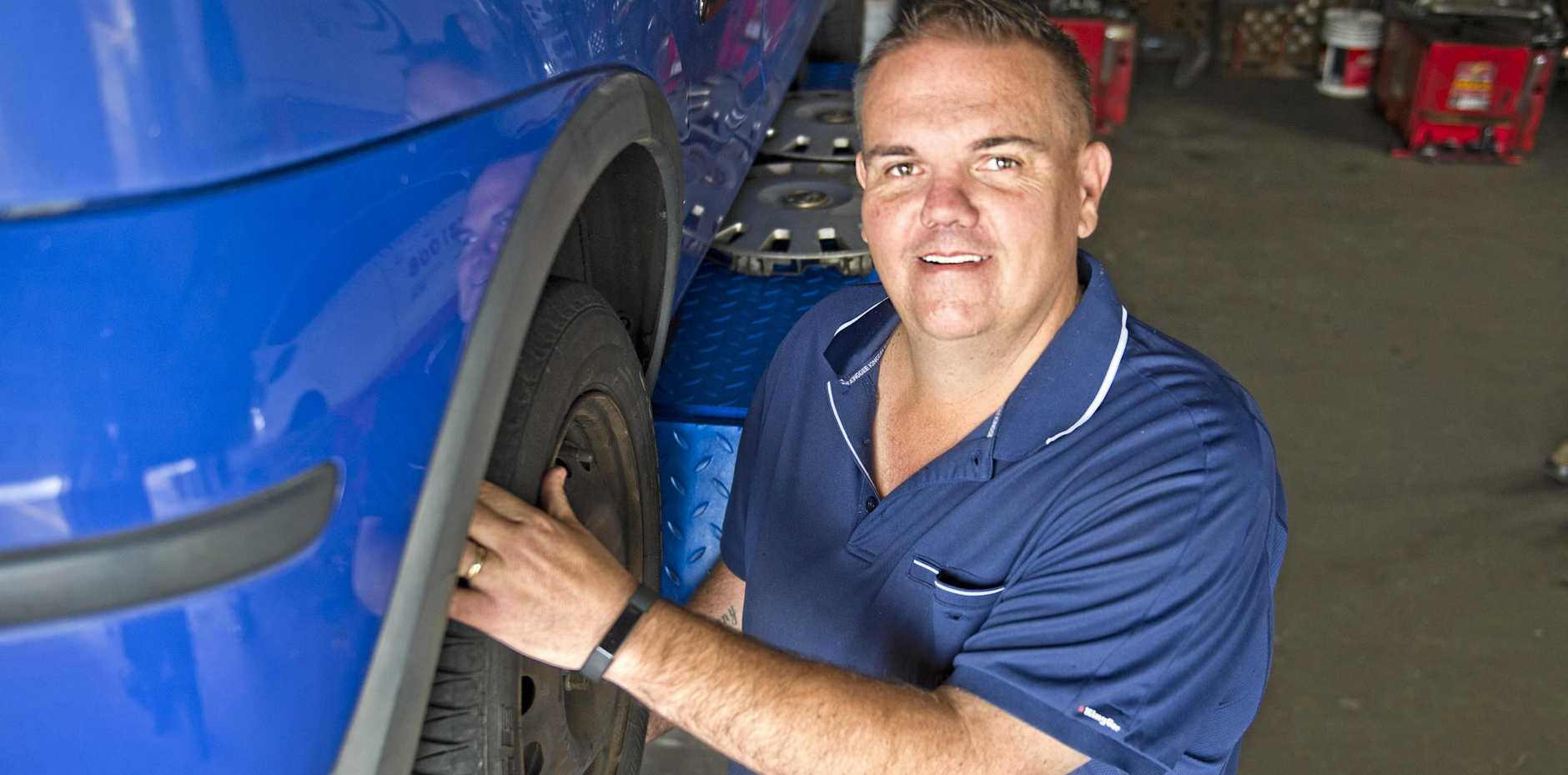 Chris Liebke is offering a new maintenance warranty deal at Liebke Tyres. Wednesday, 26th Sep, 2018.