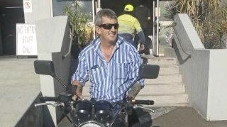 LONG ROAD AHEAD: Rockhampton man Tony Begg is in a Brisbane hospital after a serious motorcycle crash last Friday.