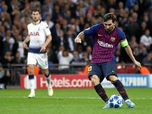 Messi masterclass stuns Spurs