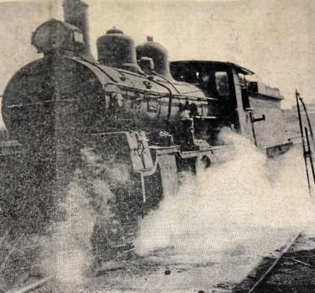 A photo on the front page of The Gympie Times from October 1, 1968 shows one of the last commercial steam trains to stop at Gympie.