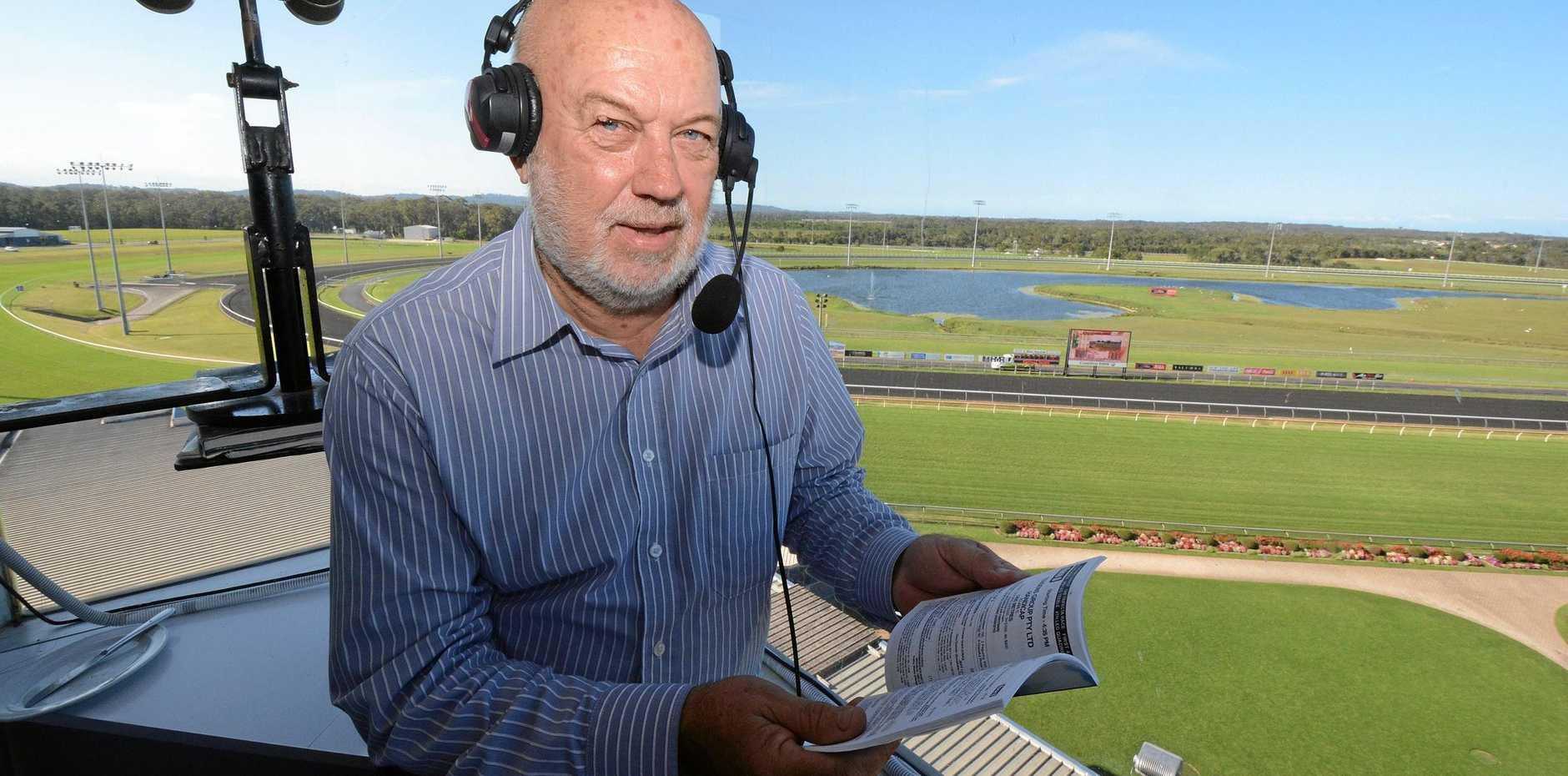 BIG HONOUR: Corbould Park racecaller Paul Dolan has been awarded life membership.