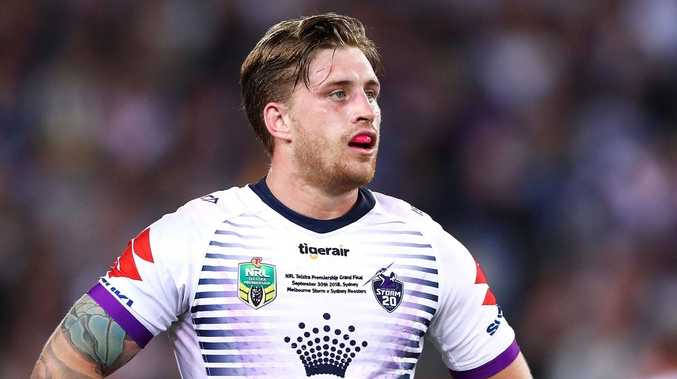Cameron Munster has been welcomed back into Kangaroos camp by coach Mal Meninga. Picture: Mark Kolbe/Getty