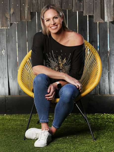 Swim star Emily Seebohm is lending a hand at the fundraiser. Picture: Nigel Hallett