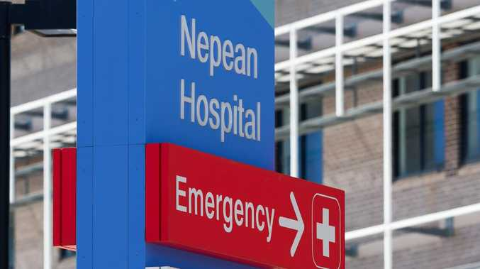 Nepean Hospital in Penrith, west of Sydney, is in lockdown after reports of shots fired.