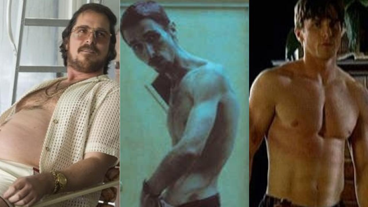 Christian Bale puts his body through a lot for the love of acting.