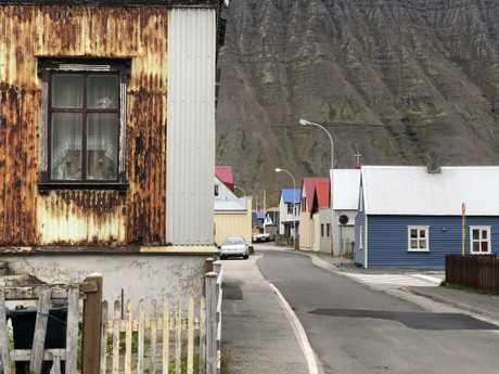 The picturesque streets of Ísafjörður. Picture: Rebecca Andrews