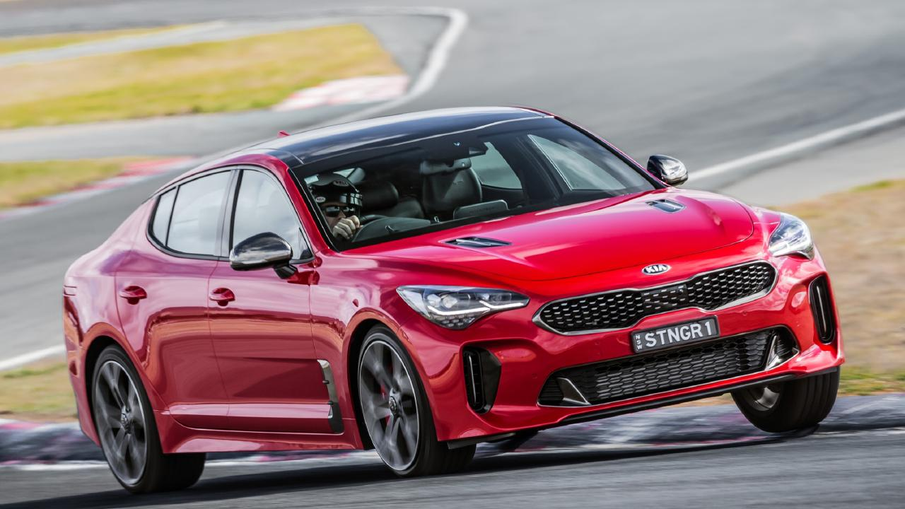A dying breed: Kia's Stinger performance sedan. Picture: Supplied.