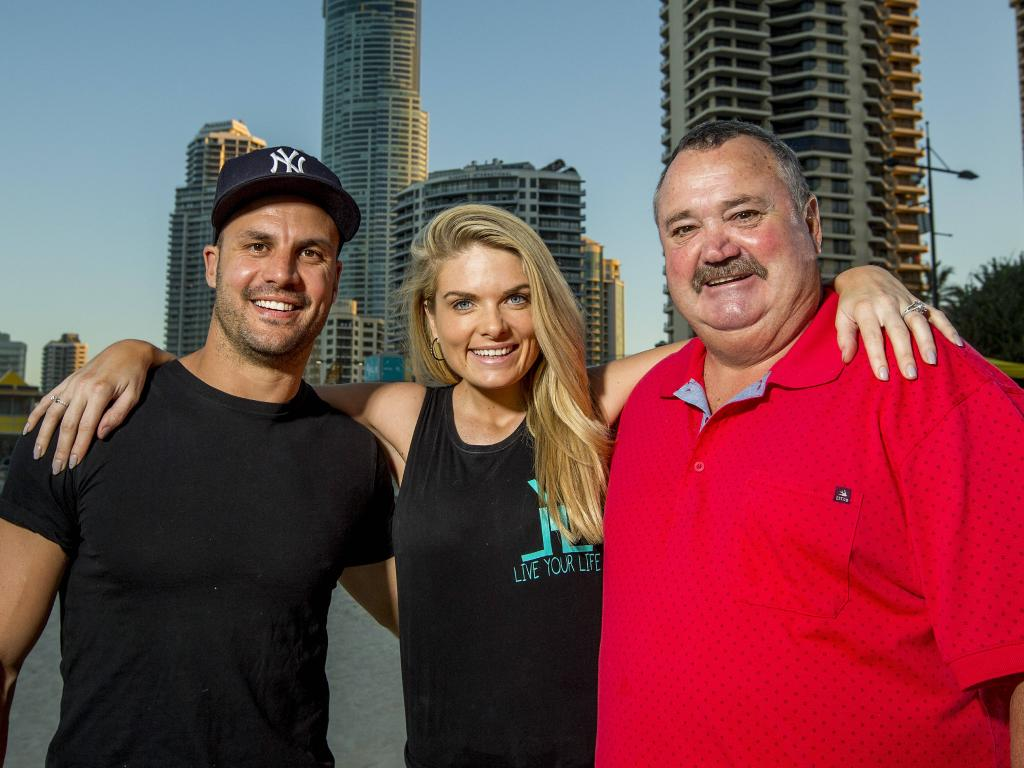 Beau Ryan, Erin Molan and Darryl Brohman.