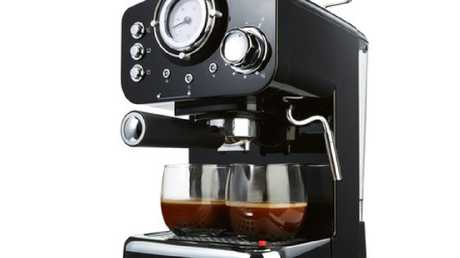 Kmart $89 coffee machine everyone is talking about. Picture: Kmart