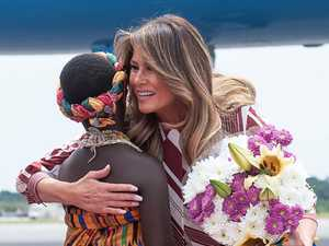 Big problem with Melania Trump photos
