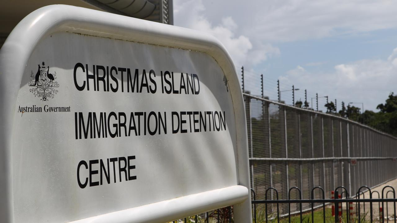 Muyobe was held on Christmas Island after being released on parole last year.