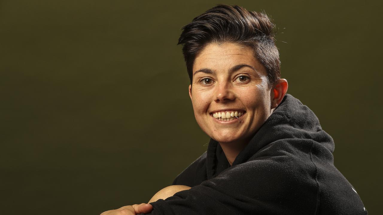 Adelaide United recruit Michelle Heyman. Picture Sarah Reed