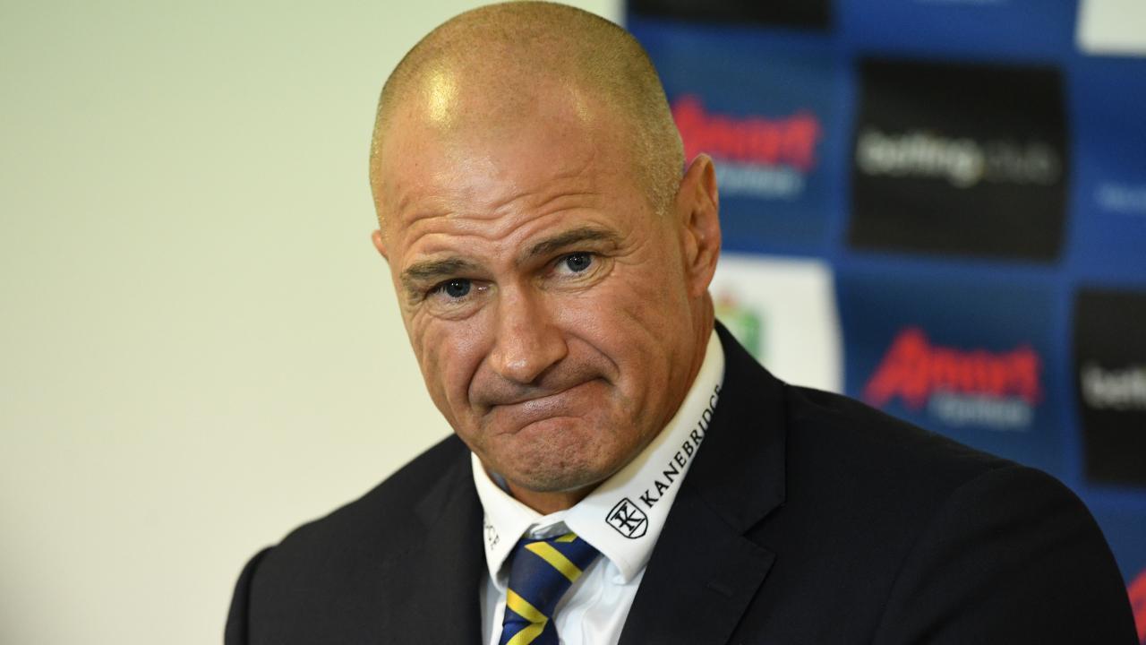 Parramatta coach Brad Arthur. Picture: Brendan Esposito/AAP