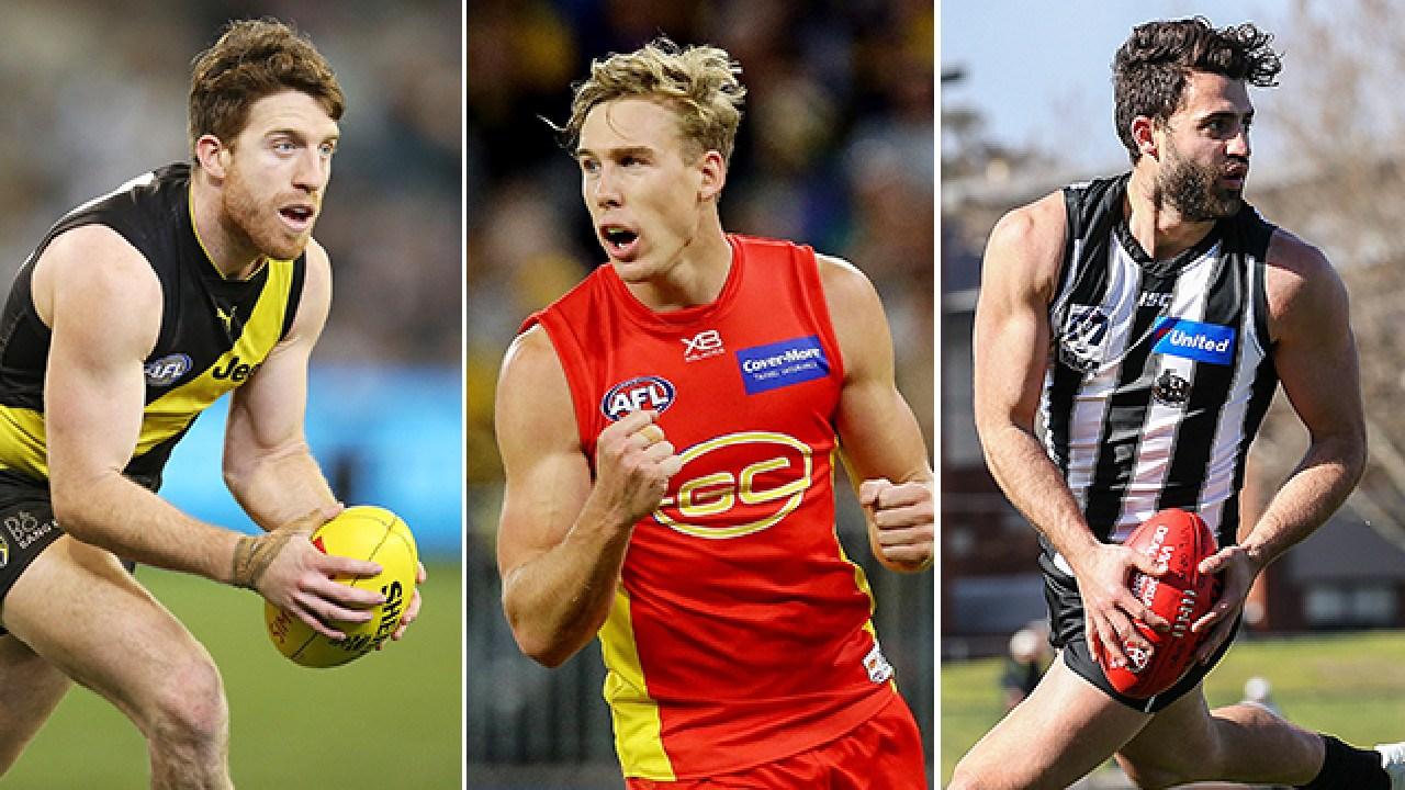 Free agents Reece Conca, Tom Lynch and Alex Fasolo.