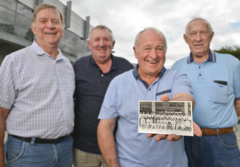 Image for sale: Faulkner Motors Reunion. David Burt, Graham Topping, Graham Mcgeary