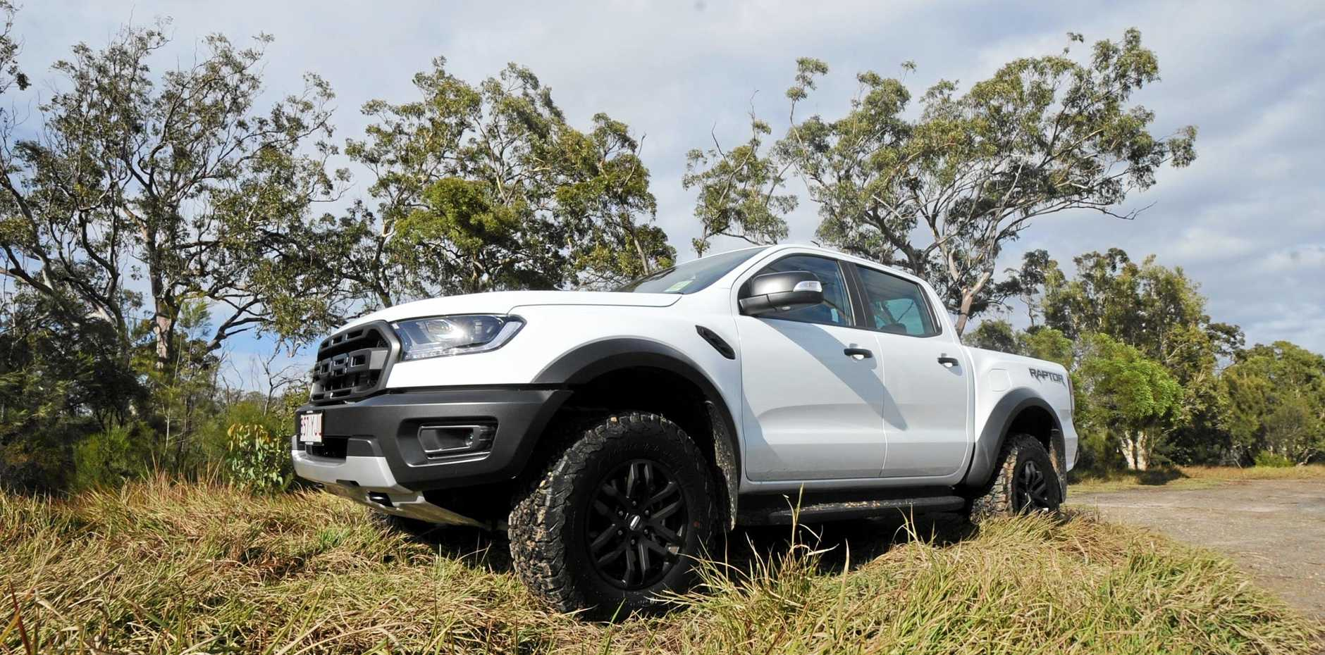 The Ford Ranger Raptor is motivated by a 2.0-litre twin-turbo diesel engine.