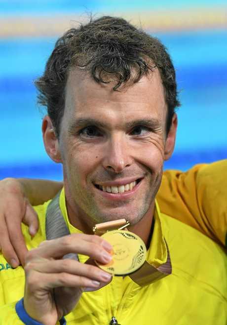 Matthew Levy wins gold.