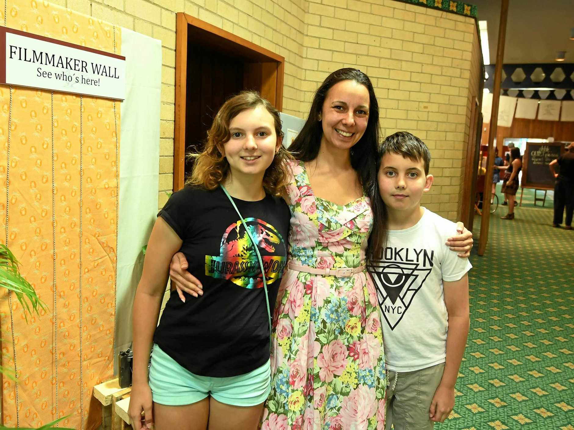 Heart of Gold Gympie Emma Wyn Belling, Aisha and Tyrone Belling.