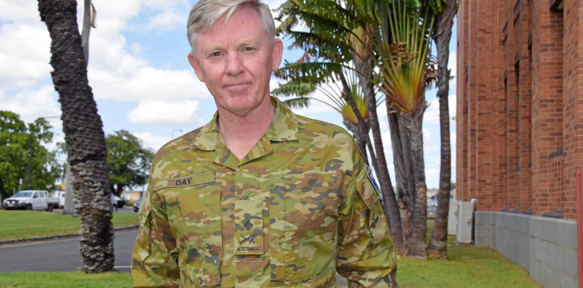 Major-General Stephen Day.