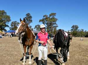 Women's team stars for Maroons in win at the polocrosse