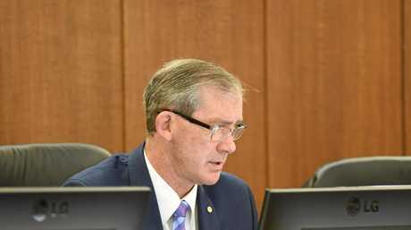 Mayor Mick Curran.
