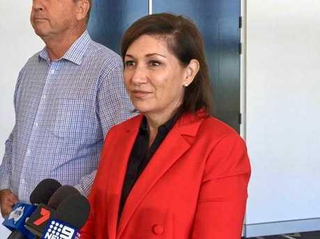 Environment Minister Leeanne Enoch.