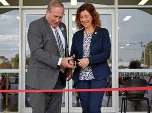 Upgraded pavilion officially opened