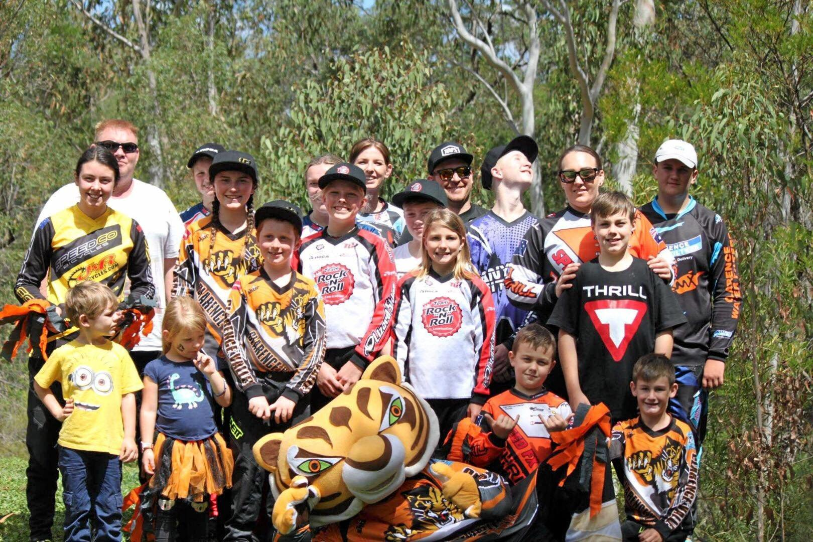 Clarence Valley BMX Cougars at the BMX NSW State Championships in Castle Hill on the October long weekend.