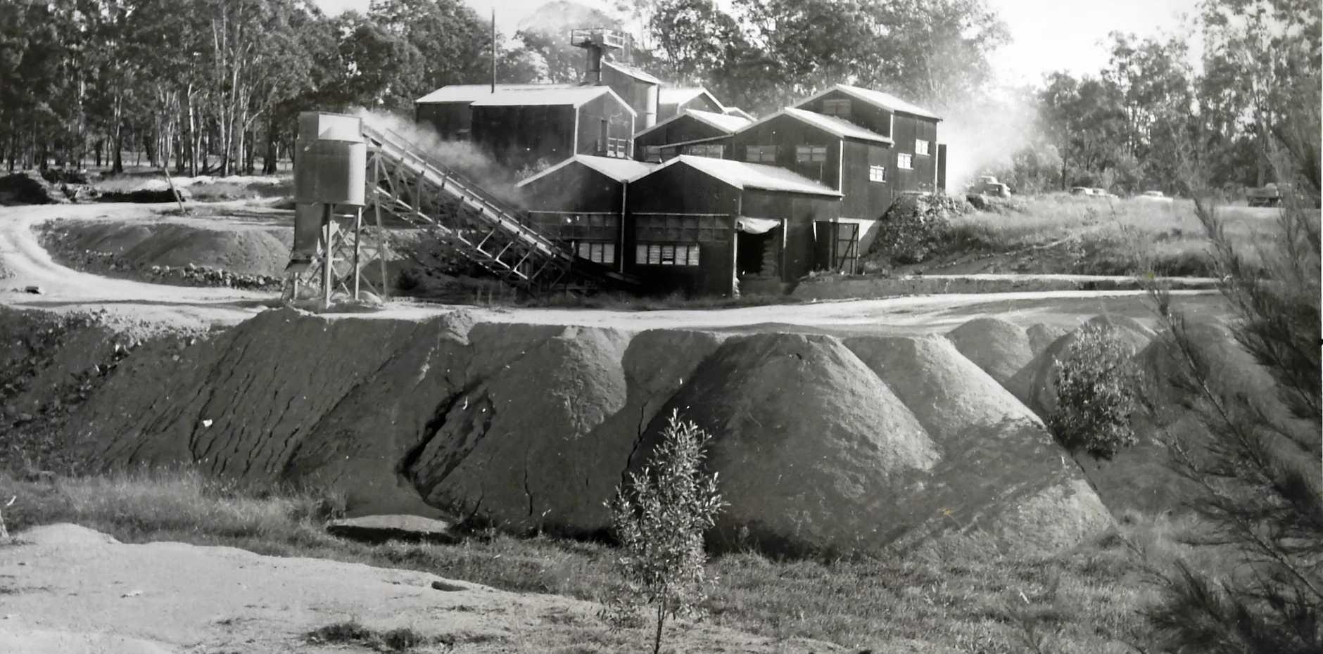 DANGER: Darcy McFadden's image of an asbestos mine in Baryulgil.