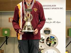 Toowoomba shooter wins state gold