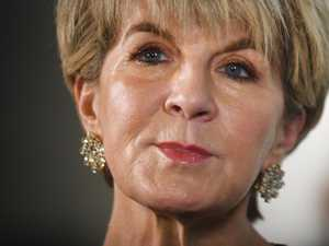 Julie Bishop reveals tense confrontation
