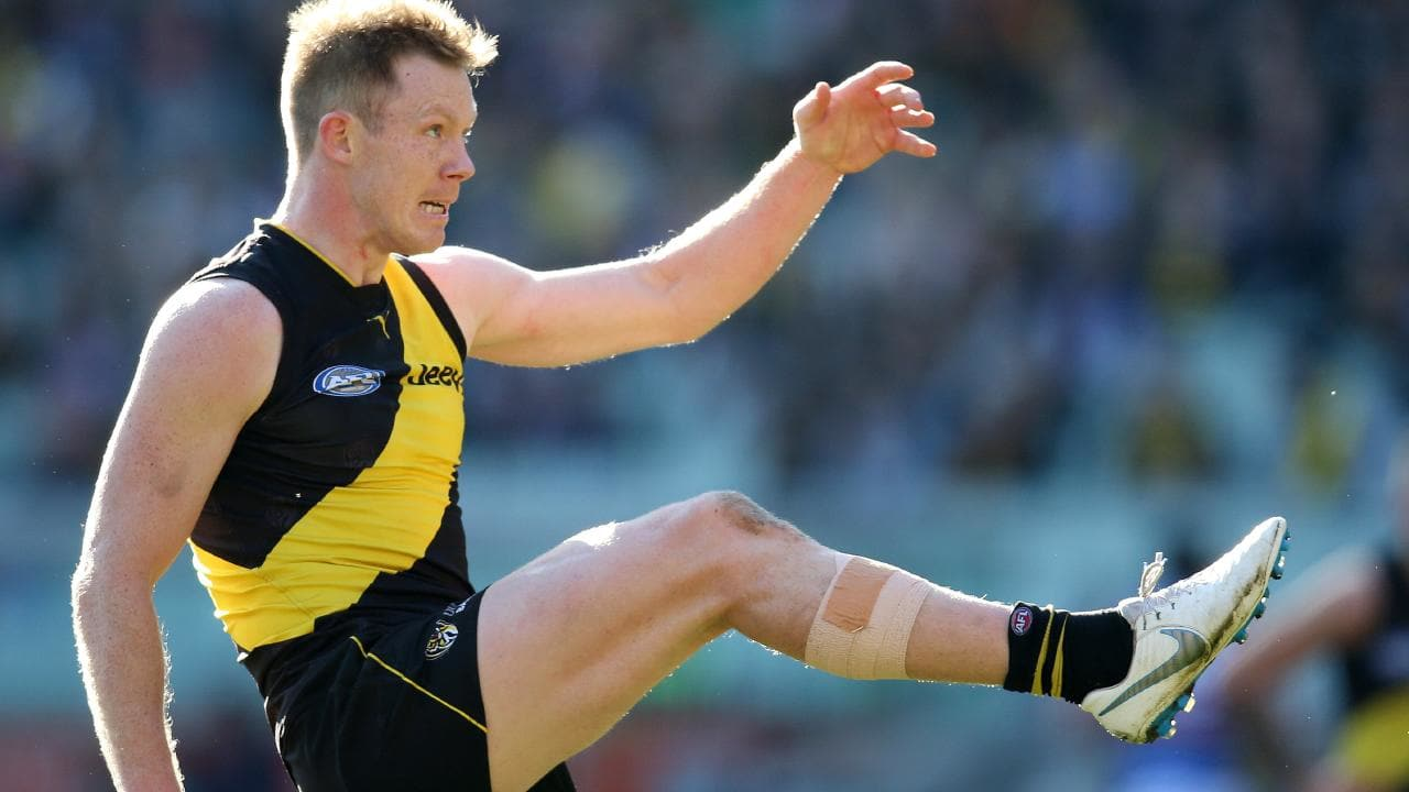 Jack Riewoldt won Richmond's best and fairest. Picture: Michael Klein