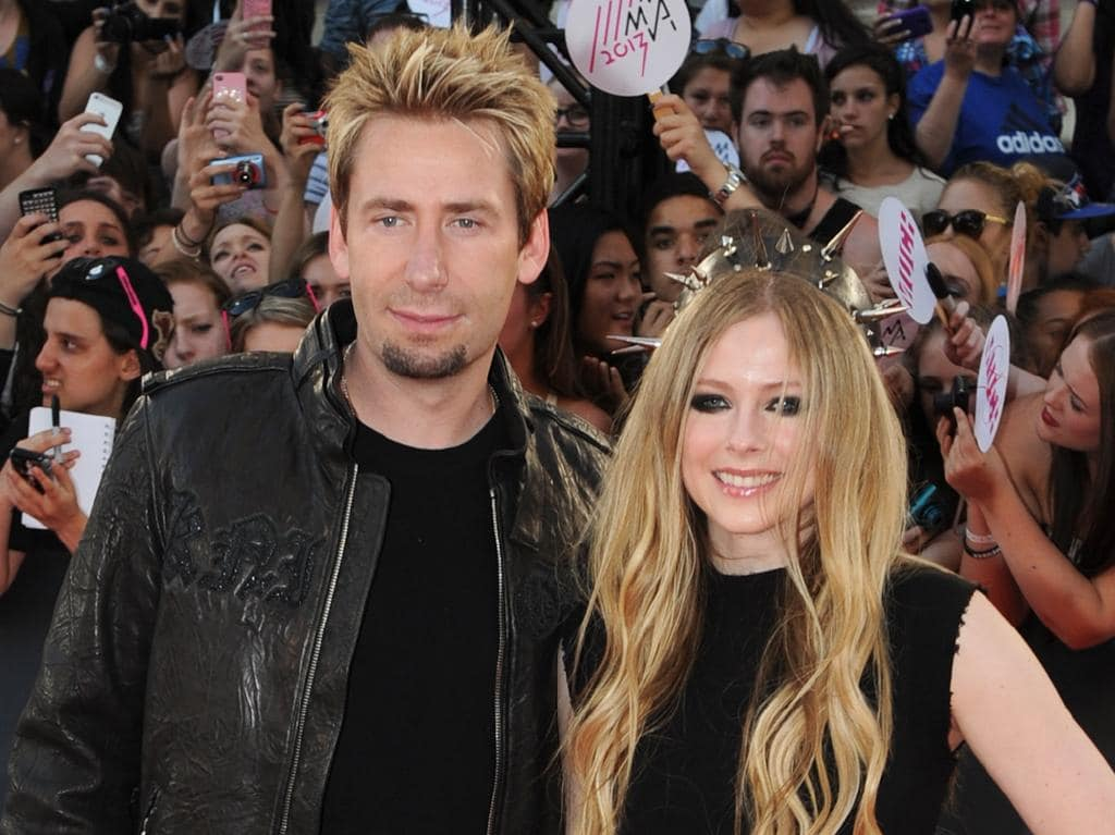 Chad Kroeger remains on good terms with ex-wife Avril Lavigne.