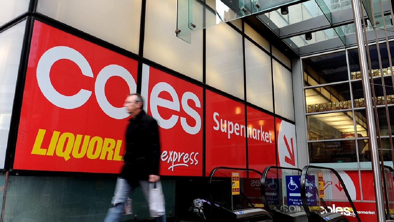 Coles will be spun off into a separate listed entity. Picture: Joel Carrett/AAP