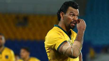 Kurtley Beale moves back to inside centre. Picture: Getty