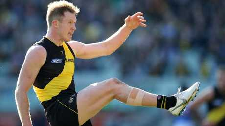 Jack Riewoldt won the Coleman Medal and Jack Dyer Medal in the same year. Picture: Michael Klein
