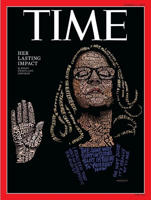 Time magazine's latest cover has gone viral.