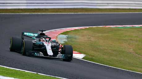 Lewis Hamilton has won the Japanese Grand Prix.