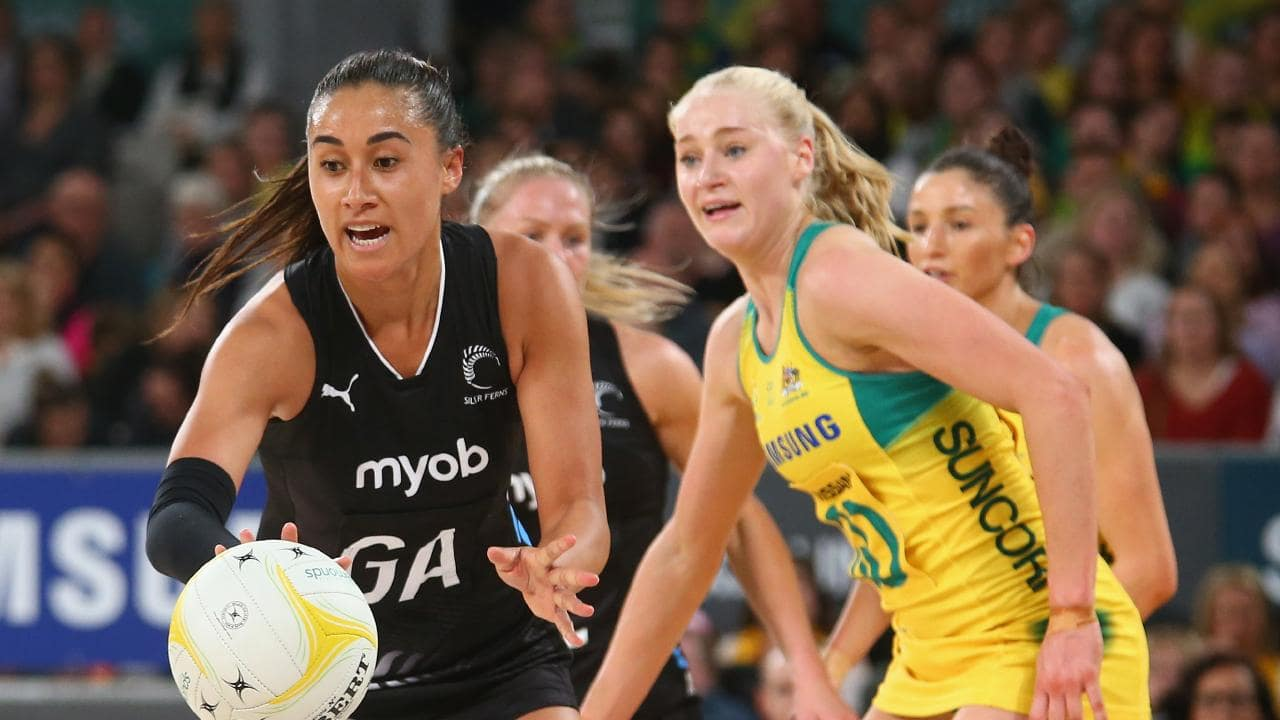 Maria Folau was part of the Silver Ferns side which fell by just five goals to New Zealand in the recent Quad Series.
